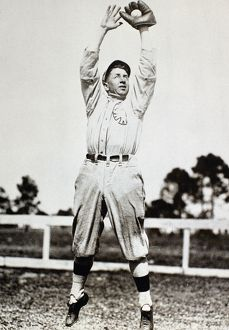 American baseball player. Early 20th century photograph