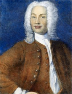 ANDERS CELSIUS (1701-1744). Swedish astronomer. After a painting by an unknown artist