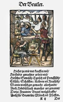 BAG MAKERS, 1568. The making and selling of leather bags, pouches, purses and gloves