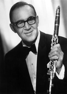 BENNY GOODMAN (1909-1986). American clarinetist. Photograph, 20th century.