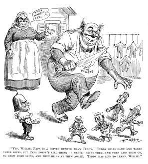 From the cartoon series 'Willie and His Papa', by Frederick Burr Opper, which