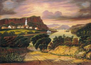 CHAMBERS: NEW YORK. 'Lake George and the Village of Caldwell
