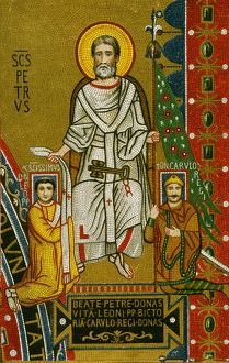CHARLEMAGNE (742-814). King of the Franks, 768-814, and Emperor of the West, 800-814