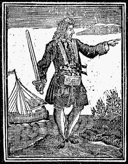 CHARLES VANE (c1680-1720). English woodcut, 1725