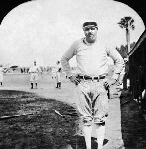 GEORGE H. RUTH (1895-1948). Known as Babe Ruth