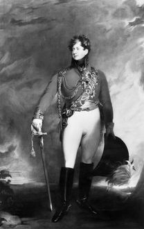 GEORGE IV (1762-1830). King of Great Britain and Ireland, 1820-1830. Oil on canvas