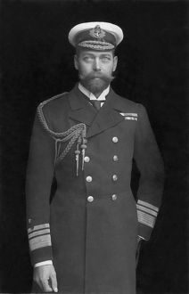 GEORGE V (1865-1936). King of Great Britain, 1910-36
