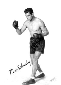 German heavyweight boxer. When world champion in 1930