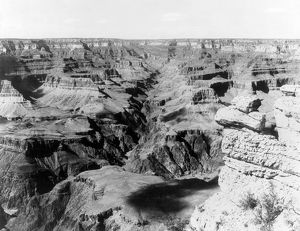 GRAND CANYON, c1902. A view of Bright Angel Canyon, a tributary of the Grand Canyon