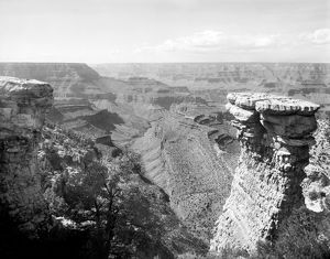 GRAND CANYON, c1906. A view of the Grand Canyon in Arizona, from the head of Grand