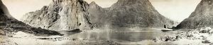 GRAND CANYON, c1908. Panoramic view along the Colorado River in the Grand Canyon