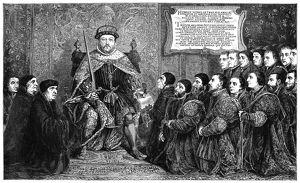 HENRY VIII (1491-1547). King of England, 1509-1547