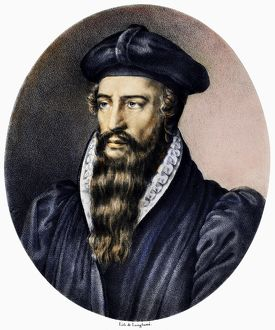 JOHN CALVIN (1509-1564). French theologian and reformer