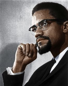 MALCOLM X (1925-1965). Originally Malcolm Little. American religious and political leader