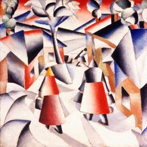 MALEVICH: MORNING, 1912