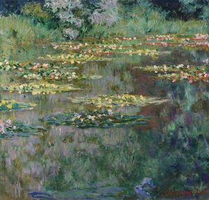 MONET: LE BASSIN, 1904. 'Le Bassin des Nympheas.' Oil on canvas, Claude Monet