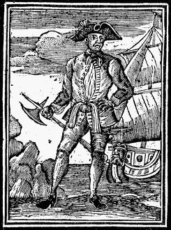 PIRATE: EDWARD ENGLAND. Ne Edward Seegar. English (Irish born) pirate