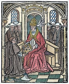 POPE GREGORY I (c540-604). Known as Gregory the Great