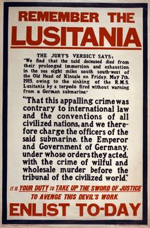 RECRUITMENT POSTER, 1915. British recruitment poster from World War I, reminding