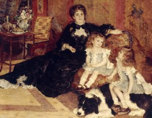 RENOIR: MME CHARPEN., 1878. Pierre Auguste Renoir: Madame Charpentier and her children