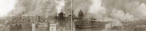 SAN FRANCISCO EARTHQUAKE. Panoramic view from the St