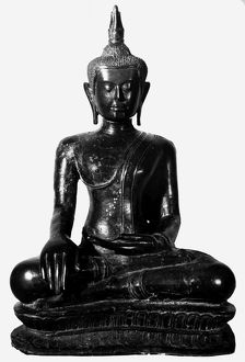 Seated Buddha, Siamese, 14th century.