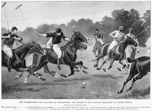 Second of the International Polo Matches at Hurlingham, England, 9 June 1902