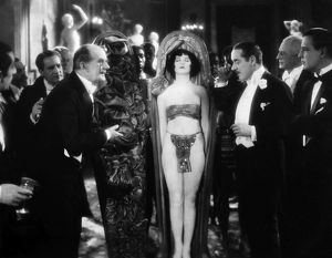 SILENT FILM STILL: PARTIES.