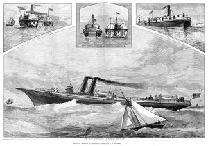 STEAMSHIPS, 1882. 'Recent Marine Inventions,' including Fryer's buoyant