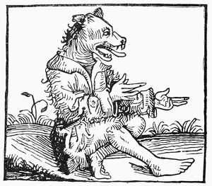 SUPERSTITION, 1493. Spontaneous Generation. A monster born from the Biblical Deluge