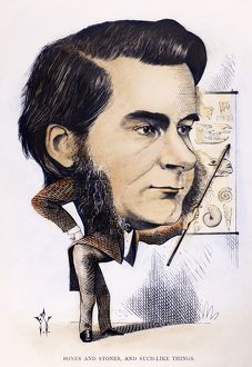 THOMAS H. HUXLEY (1825-1895). English biologist