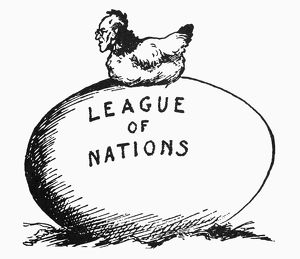WILSON: LEAGUE OF NATIONS